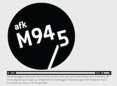 Radiointerview mit M94,5