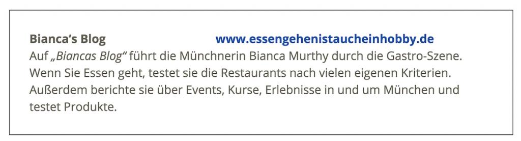 Schönste Blogs München - Biancas Blog - München