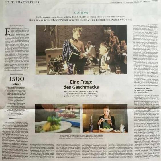 Süddeutsche Zeitung Biancas Blog