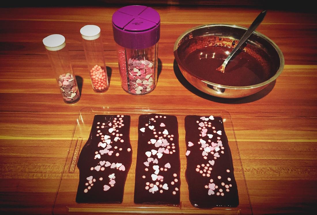 Schokolade verzieren