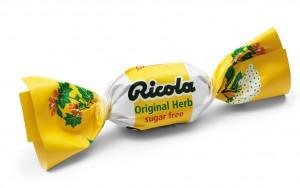 Das verpackte Ricola-Bonbon