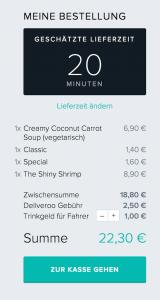 Urban Soup - Deliveroo - Lieferdienst - 15a