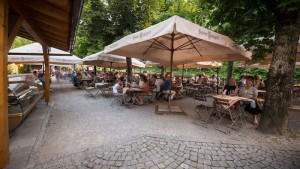 Klosterschenke Scheyern Biergarten