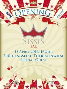 SissiS Bar am Muenchner Fruehlingsfest