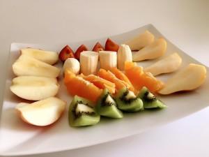 fruitme Obstlieferung aufgeschnitten