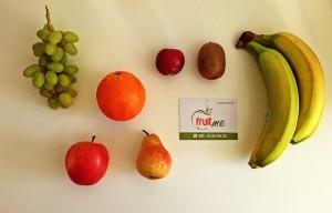 fruitme Obstlieferung der Standard Obstkorb einzeln