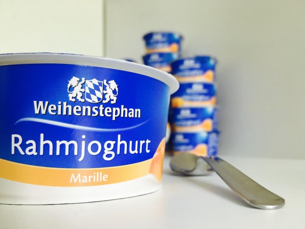 Weihenstephan Rahmjoghurt Marille 2