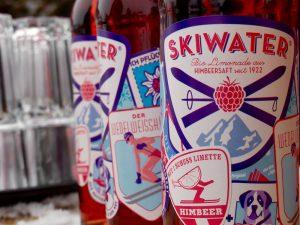 Skiwater Himbeersaft seit 1922