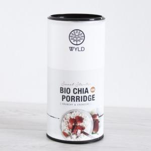 Wyld Porridge - Bio Chia Porridge Crunchy Erdbeere