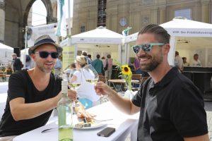 Bayerische Genussfestival zwei Typen Copyright Culinarium Bavaricum