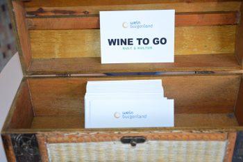 Tonhalle Weinverkostung Burgenland