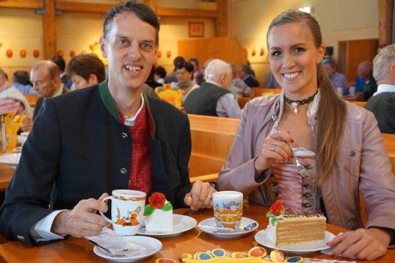 Rischart Cafe Kaiserschmarrn Oktoberfest Herr Mueller Rischart und ich