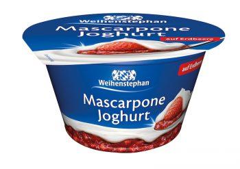 Weihenstephan Mascarpone Joghurt Produkttest Erdbeere
