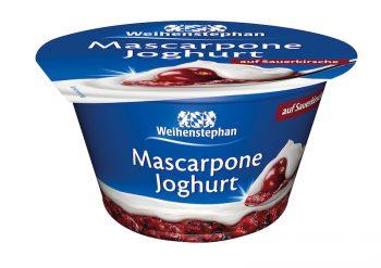 Weihenstephan Mascarpone Joghurt Produkttest Sauerkirsche