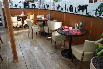 Maredo Steakhouse Flughafen Muenchen Biancas Tasty Tour Sitzbereich