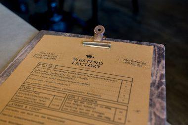 Westend Factory_Steak_und_Fisch_Westend Speisekarte