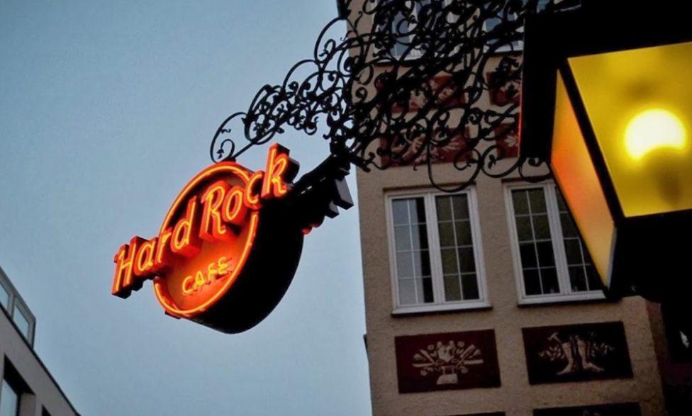 Hard Rock Cafe Muenchen am Platzl 15 Jahre 2