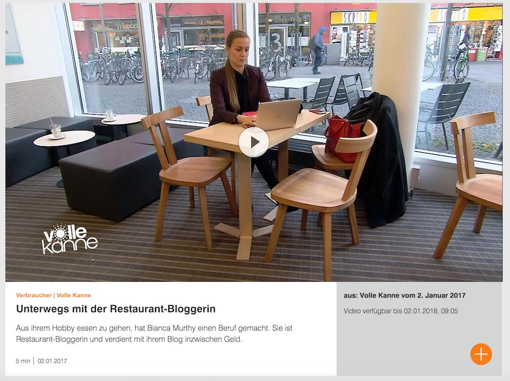 ZDF Volle Kanne Bianca Murthy Vollzeit Bloggerin 2