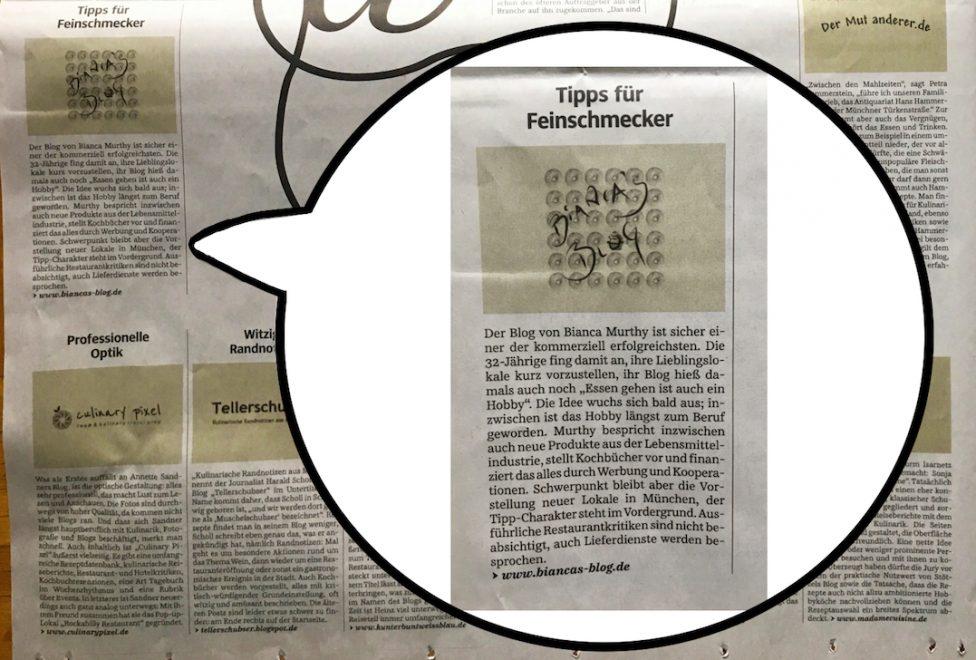 Süddeutsche Zeitung - Biancas Blog