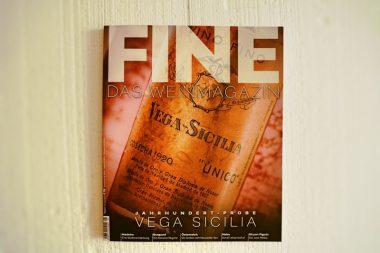 FINE Das Weinmagazin Cover