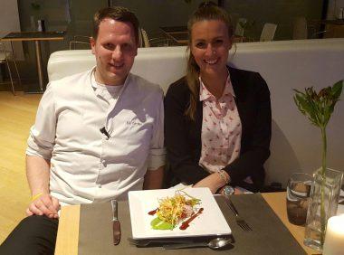 Highlight Restaurant INNSIDE Munich Kai Große und Bianca Murthy