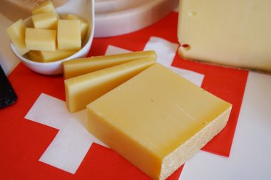 Käse aus der Schweiz Le Gruyère