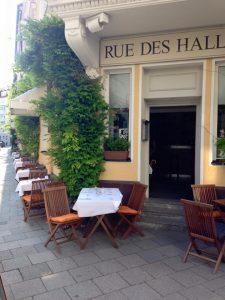 Restaurants naehe Gasteig Rue des Halles Außenbereich