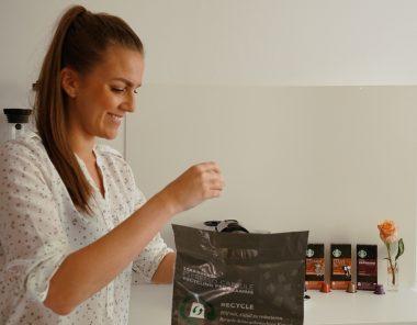 Kaffeekapseln bei Starbucks Recycling