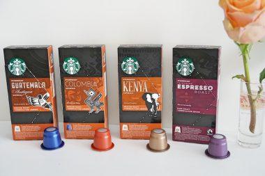 Kaffeekapseln bei Starbucks Sorten