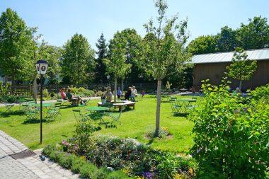 Kugler Alm Oberhaching Biergarten