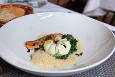 La Brasserie Neuhausen Ei mit Fisch