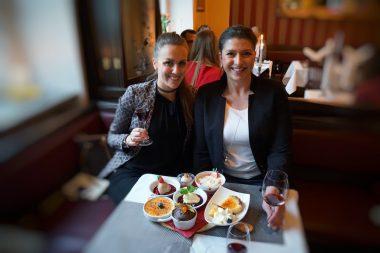 La Brasserie Neuhausen Bianca und Begleitung