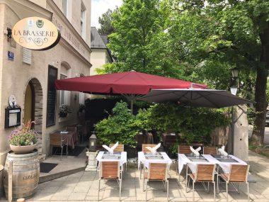 La Brasserie Neuhausen Außenansicht