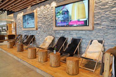 Sportalm Flughafen München Liegestühle