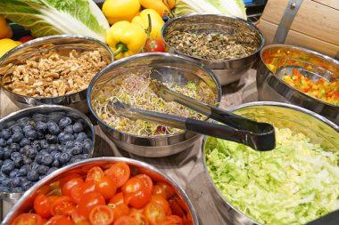 Sportalm Flughafen München Salat