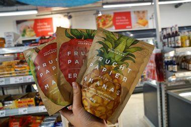 Rewe City am Hauptbahnhof Supermarkt im Test Fruchtpapier 3