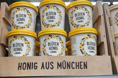 Rewe City am Hauptbahnhof Supermarkt im Test Muenchner Honig