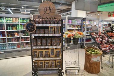 Rewe City am Hauptbahnhof Supermarkt im Test Panifactum Stand