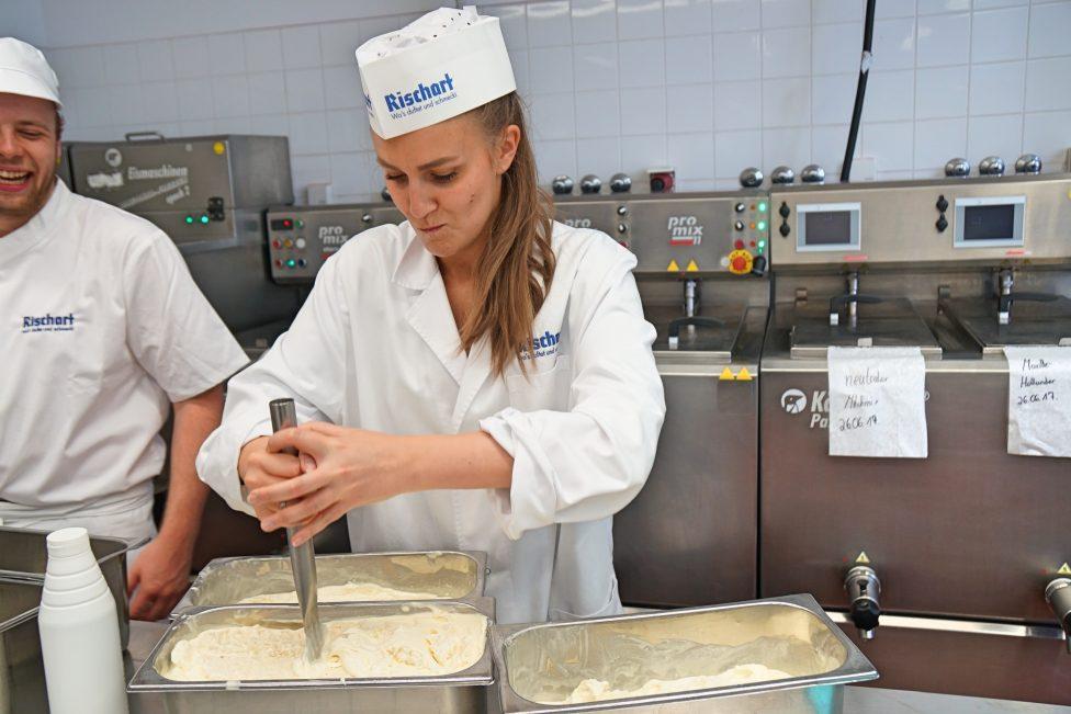 Rischart Eis Produktion