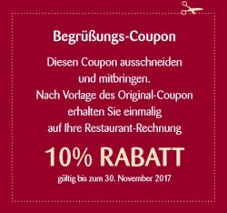 Restaurant David am Schliersee Coupon