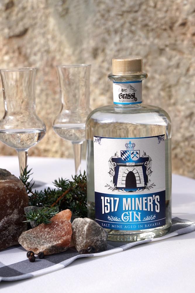 Miner\'s Gin 1517 - der neue Gin, gereift in 1000 Meter TiefeBiancas Blog