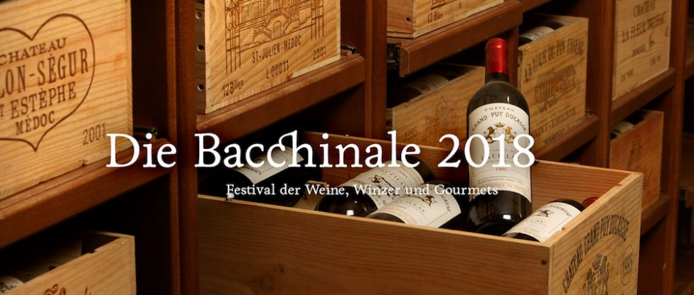 Bacchinale Hotel Burg Wernberg Bacchinale 2017 Bacchinale 2018 - Cover