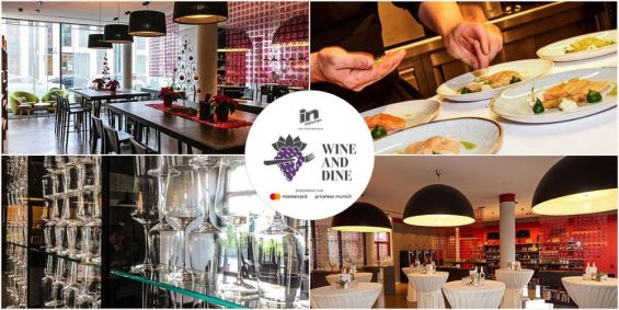 WINE and DINE im ViniPuri 2.0 Collage