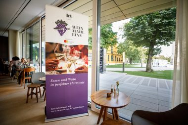 WeinMahlEins im Restaurant Ella im Lenbachhaus