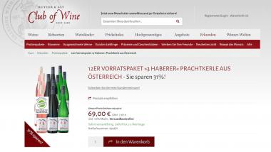 Club of Wine Ludwig von Kapff hochwertige Weine online shoppen 6