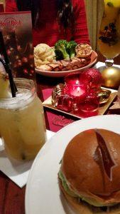 Hard Rock Cafe Muenchen Weihnachten feiern Weihnachtsmenue 4