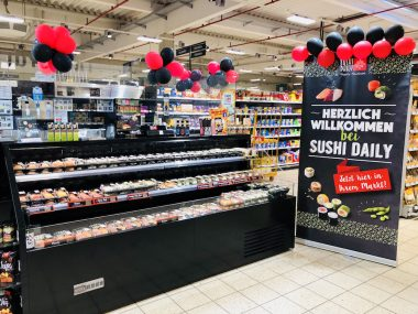Sushi Daily REWE Sushiplatte 3