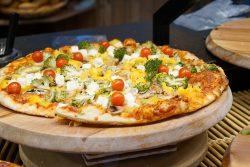 täglich gibt's frische, hausgemachte Pizzen