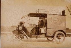 Rischart Baeckerei Geschichte - 1912 Auto