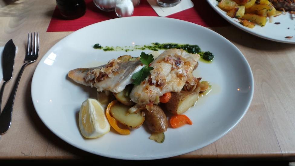 Leib und Seele - Fischgericht